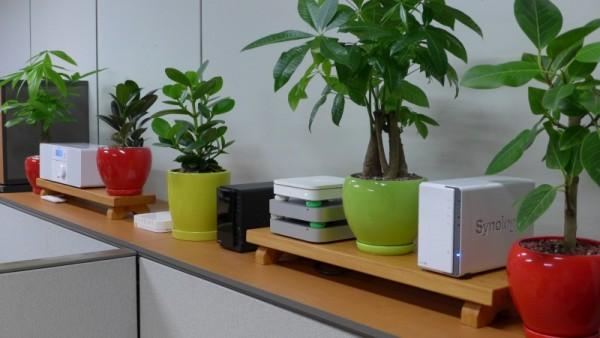 Server room as a garden